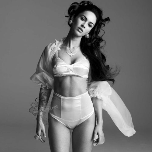 Megan Fox: Lingerie Lovely