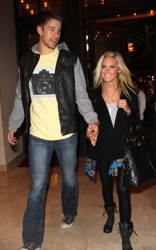 Ashley Tisdale's Movie Date Night