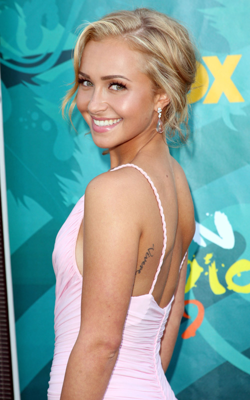 Hayden Panettiere: 2009 Teen Choice Hottie