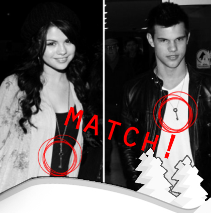 Apparently Saylor Moon has matching necklaces!