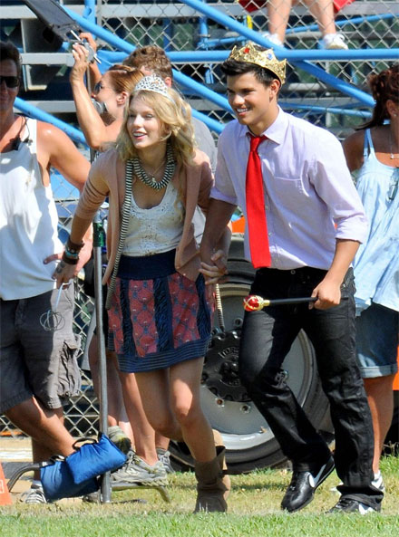 Taylor Swift & Taylor Lautner: no longer a couple