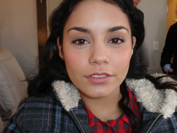 Vanessa Hudgens on the Set of BandSlam the movie