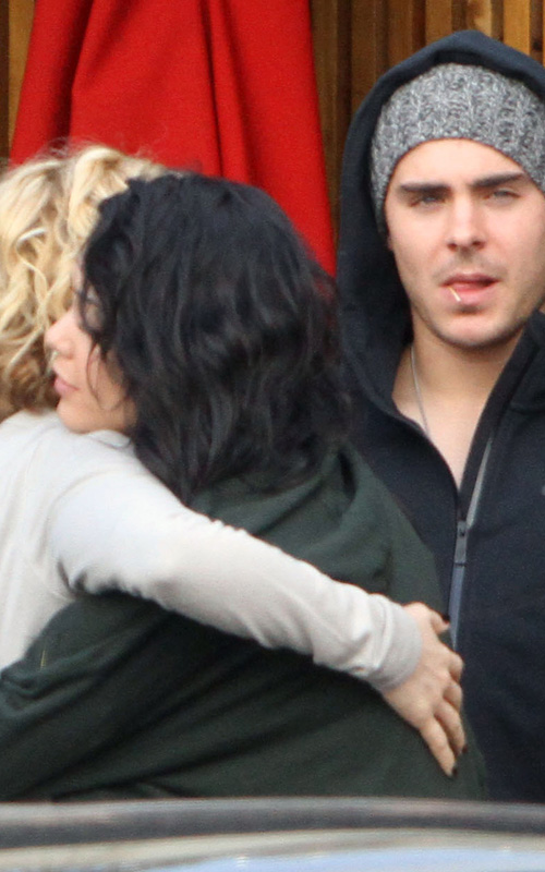 Zac Efron and Vanessa Hudgens: Out with Brittany Snow