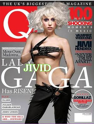 "Lady Gaga Gets Cocky for ""Q"" Magazine!"