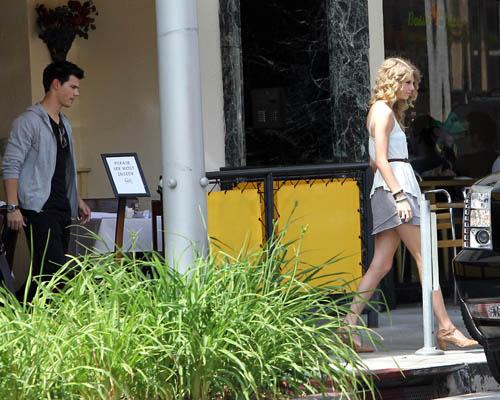 Taylor Swift and Taylor Lautner: The Farm Lunch Date! (PHOTOS)