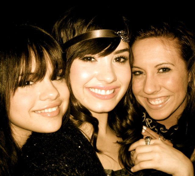 Selena & Demi on radio disney (Not together obviously)