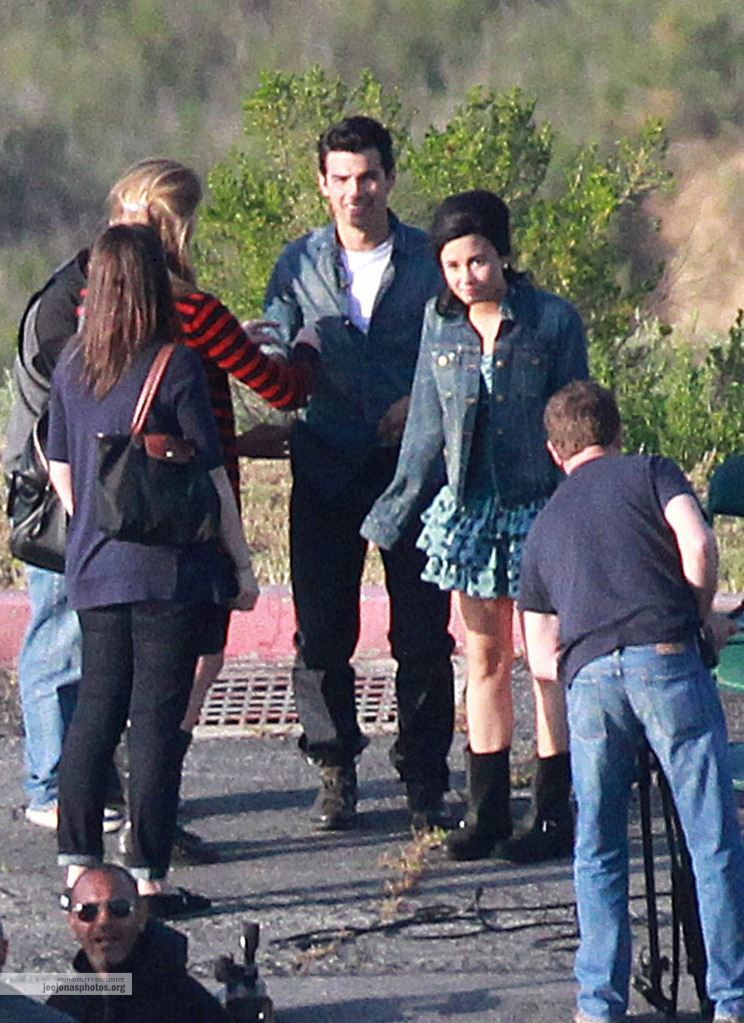 Joe + Demi at Teen Vogue Photoshoot (BIG PICTURES UNDER)