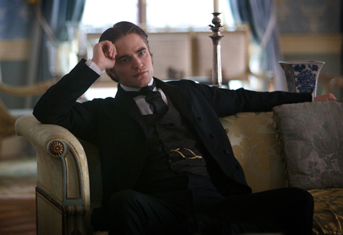 Robert Pattinson Smolders In 'Bel Ami' Movie Stills