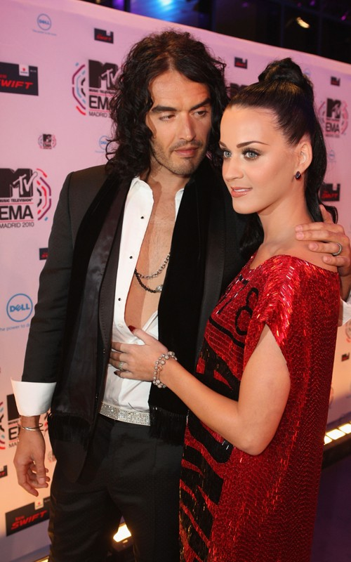Katy Perry and Russell Brand: 2010 MTV EMA Lovers (photos)
