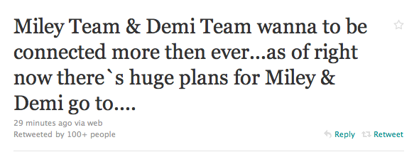 Miley and Demi to go to Brazil together?