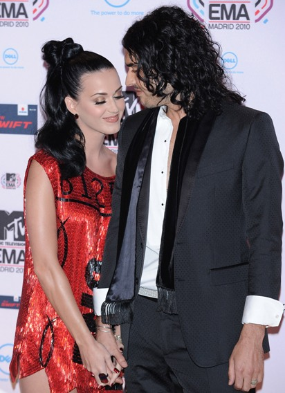 Katy Perry Sometimes Forgets About Husband Russell Brand