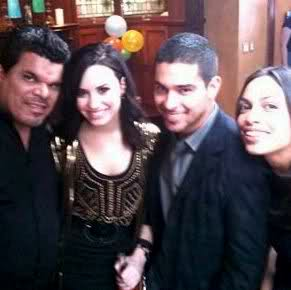 Demi & Wilmer spotted last night (tweets under the cut)