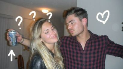 zac has moved on? (PHOTOS)