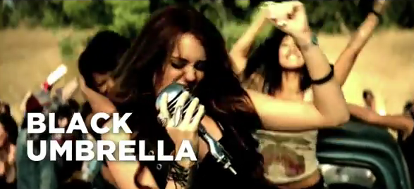 Miley – Black Umbrella (spoof)