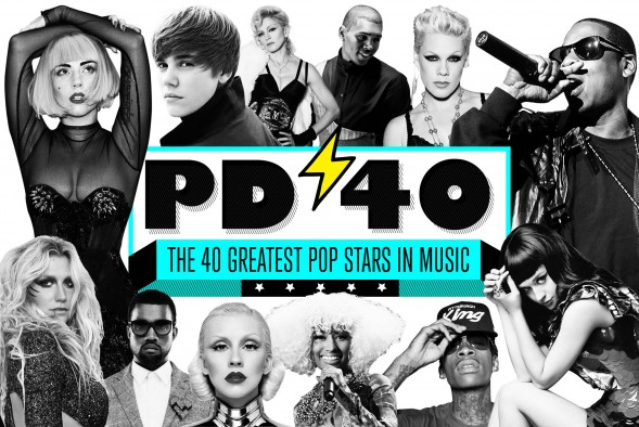 Popdust.com- The 40 Greatest Pop Stars in music today