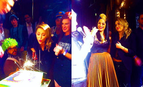 "Miley Cyrus on her birthday, ""the best party ever"""