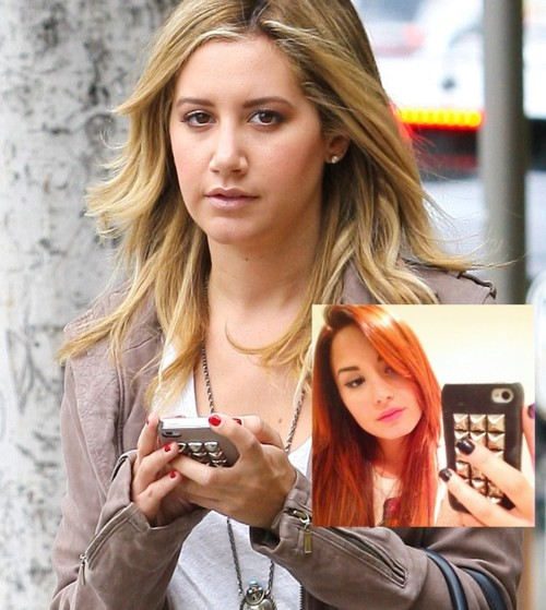 ashley tisdale & demi lovato: same iphone cover case
