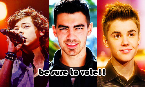 Harry, Joe & Bieber: Hottest Male Nomination!