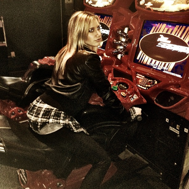 Zac Efron and Ashley Tisdale Went Laser Tagging Last Night