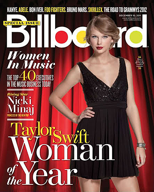 Taylor is Billboard's Woman of the Year scans and interview
