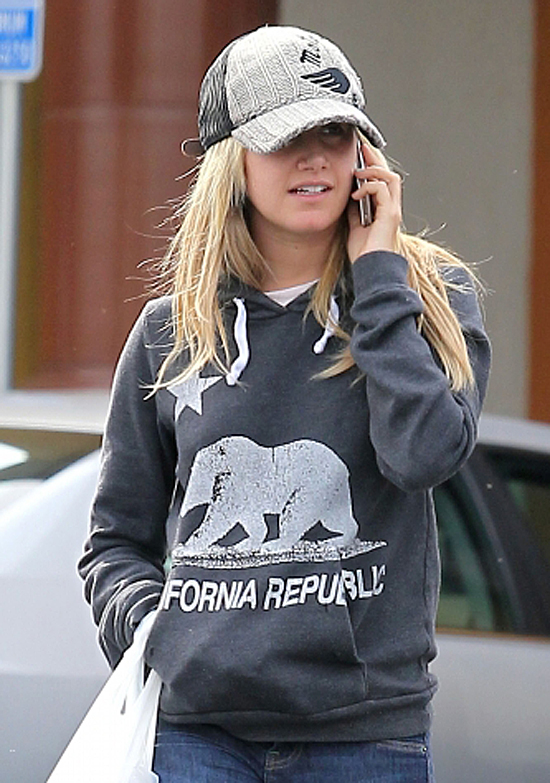 Ashley Tisdale spotted leaving a Rite Aid store in LA (photo's under)