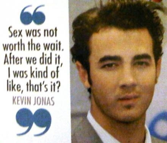 "Kevin Jonas' Blind Item: miserable in fake marriage because he's ""gay""?"
