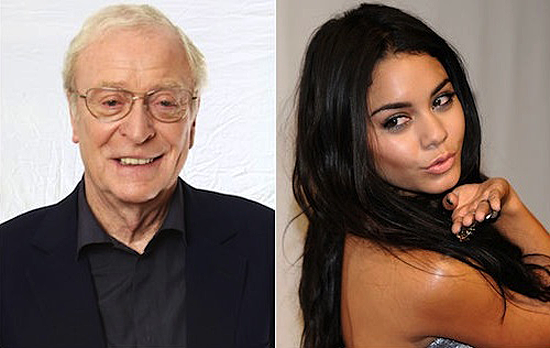 "Vanessa Hudgens and Michael Caine sing ""Firework"" by Katy Perry at set"
