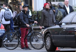 Joe Jonas Bike Riding in New York City [Pics Below]