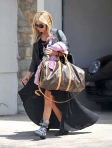 Ashley Tisdale Walking with her dog [pics below]