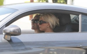 Lady Gaga spotted in Beverly Hills