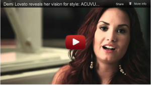 ACUVUE® 1-DAY Ads feat. Joe Jonas, Demi Lovato, Meaghan Martin [Videos]