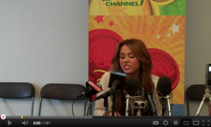 "[Video] Miley Cyrus Talks about her upcoming movie ""LOL"""