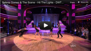 Selena Gomez &The Scene perform on Dancing With The Stars!