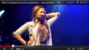 Demi Lovato is a real directioner!