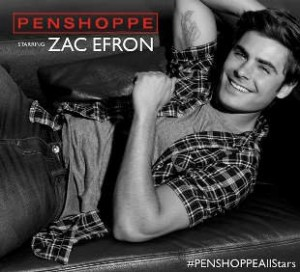 Zac Efron doing an endorsement for filipino fans