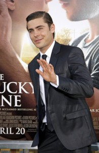 "Zac Efron at ""The Lucky One"" Los Angeles premiere [Pics below]"