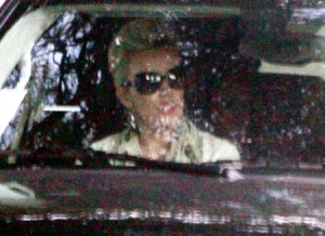 Lady Gaga arrives at Chateau Marmont
