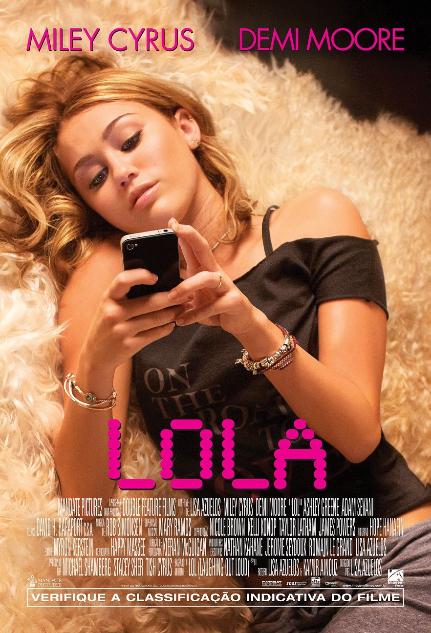 [Gallery Update] Miley Cyrus – LOL Official Brazilian Poster