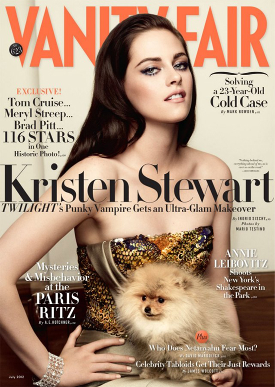 Kristen Stewart in Vanity Fair (photos under)