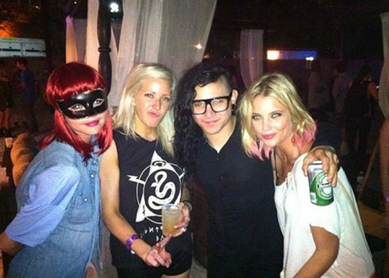 Skrillex to score Selena & Vanessa's new movie 'Spring Breakers'