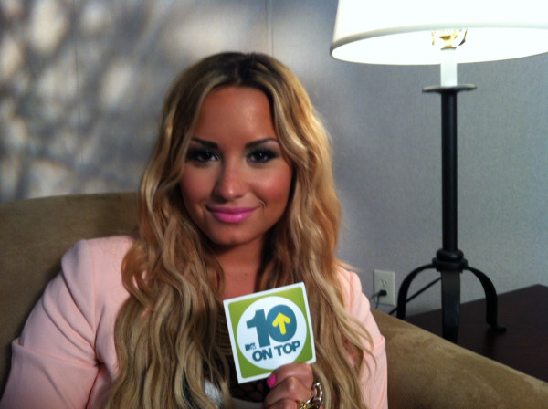 "Demi Lovato to be on ""10 on Top"" Tomorrow Morning"