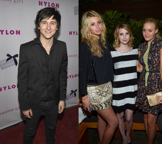Young celebs attend party at Hollywood Roosevelt Hotel (photos under)