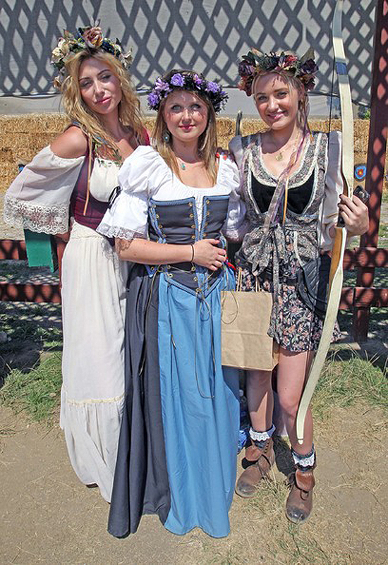 Alyson And A.J. Michalka Renaissance Faire Fantastic (photos under)