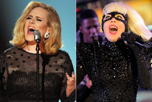 Adele Knocks Lady Gaga From Top Gay Icon Spot