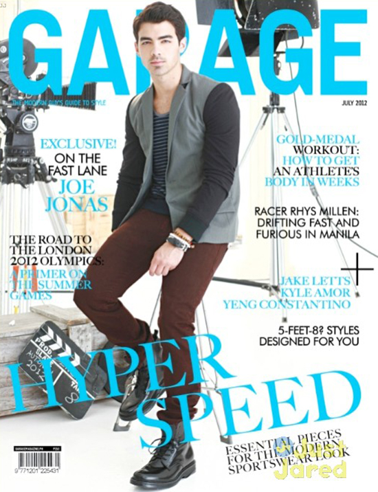 "Joe Jonas covers ""Garage"" Magazine"