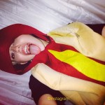 Miley Cyrus Dresses Up As A Hot Dog In New Selfie!