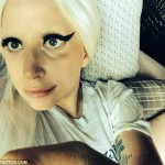 Lady Gaga Shares Going To Bed Selfie With A Face Full Of Makeup!