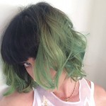 Katy Perry Shows Off Her New GREEN Hair!