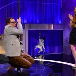 Lindsay Lohan Teaches Alan Carr Pole Dancing On Alan Carr : Chatty Man