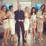 The Saturdays' Frankie Sandford Admits She Couldn't Stop 'Stroking' Phillip Schofield On This Morning